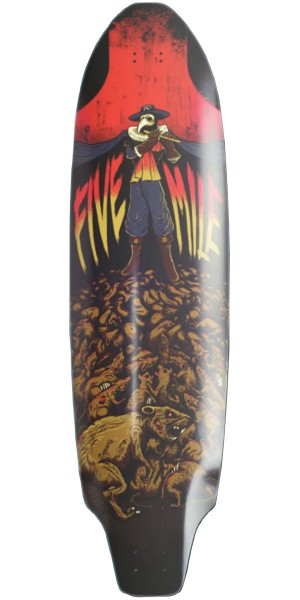 Five Mile Pied Piper Longboard Skateboard Complete