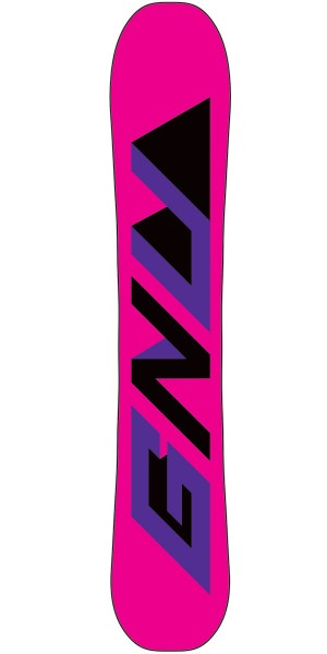 GNU Beauty DC3 Women's Snowboard 2015