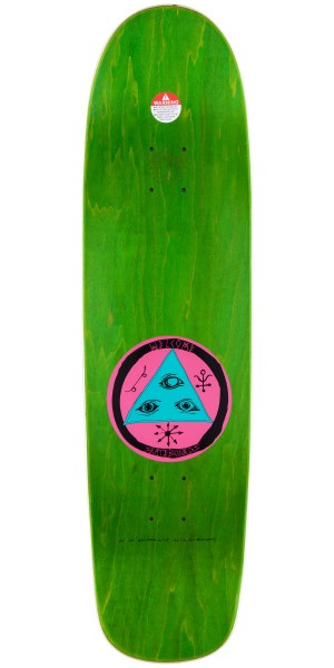 """Welcome Baby On Waxing Moon Skateboard Complete - Blue - 8.50"""""""