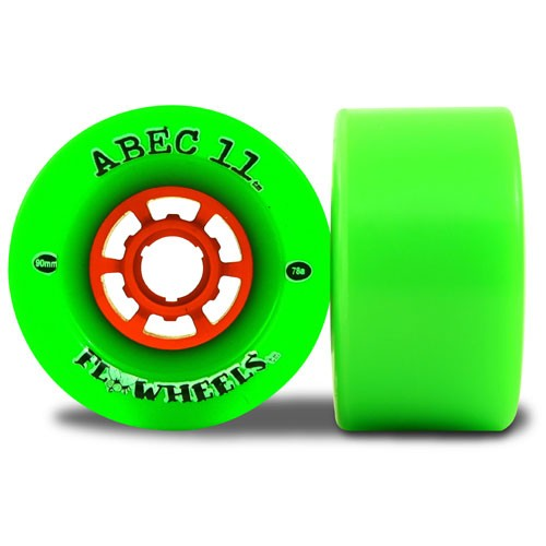 Abec11 Flywheels Longboard and Street Luge Wheels 90mm