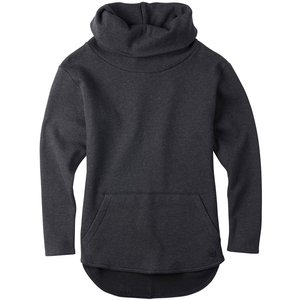 Burton Ellmore Pullover Fleece - True Black Heather