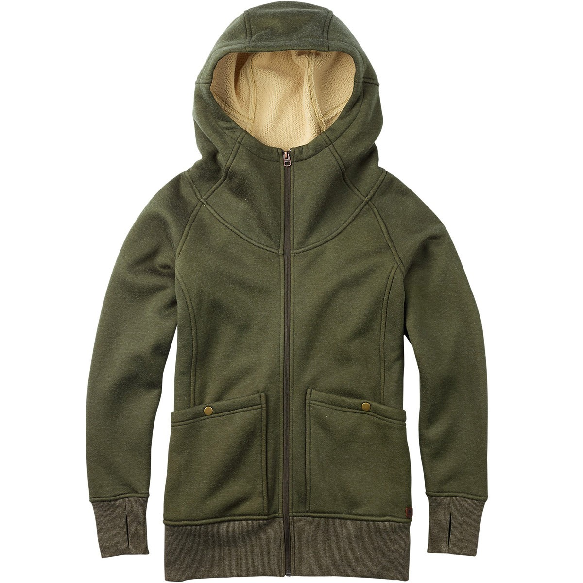 Burton Journey Fleece - Olive Night Heather