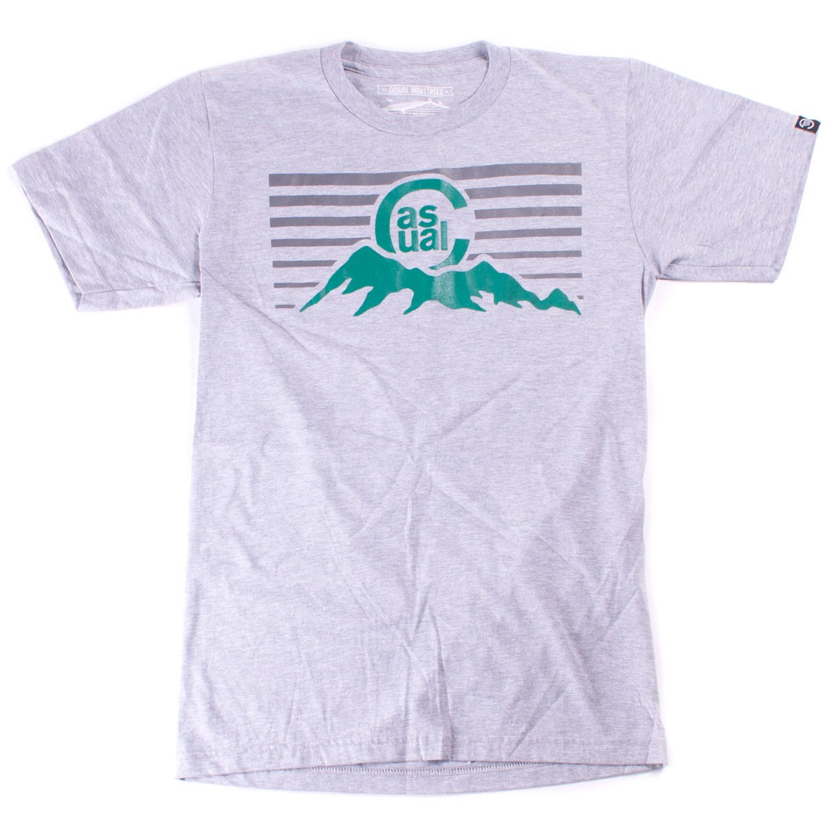 Casual Industrees C-MTN T-Shirt - Heather Grey