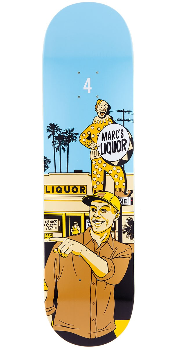 Chocolate Marc Johnson City Series Skateboard Deck - 8.125""