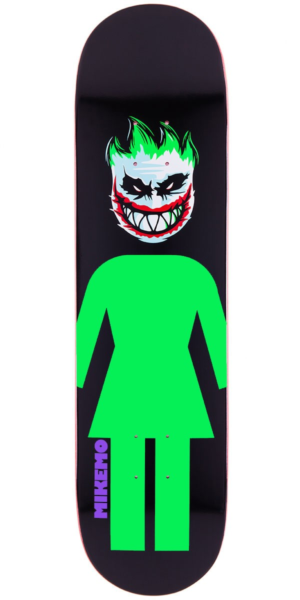 Girl Mike Mo Joker Skateboard Deck - 8.0""