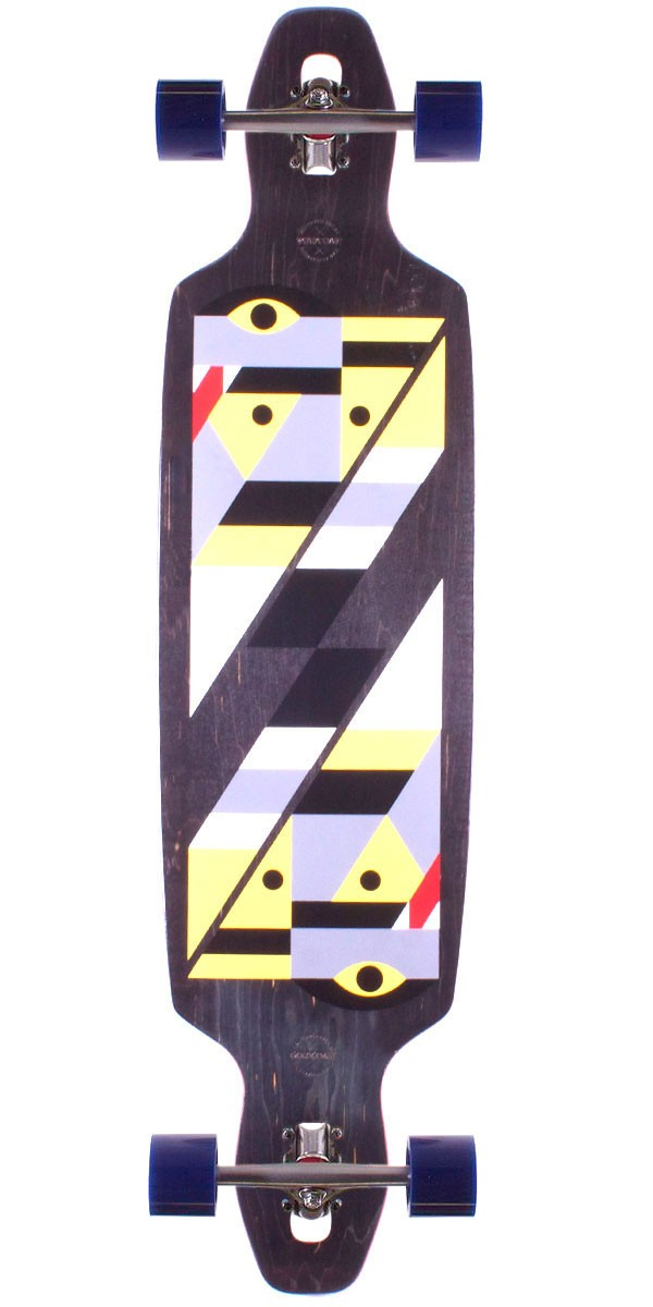 Gold Coast Serpentagram Longboard Skateboard Complete