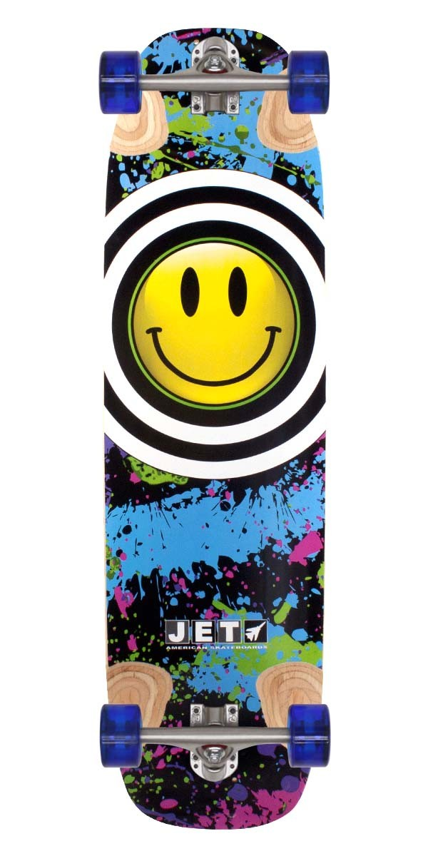 Jet Hot Potato Longboard Skateboard Complete