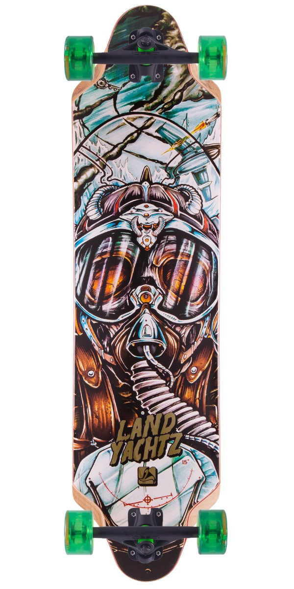 Landyachtz Top Speed 36 Longboard Skateboard Complete - 2015