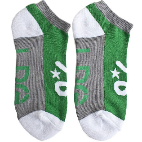 LRG Core Collection Two No Show Socks - Kelly
