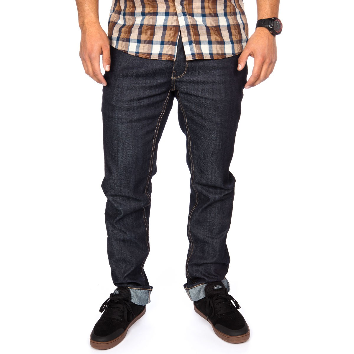 Matix Gripper Slim Straight Jeans - Raw Deep