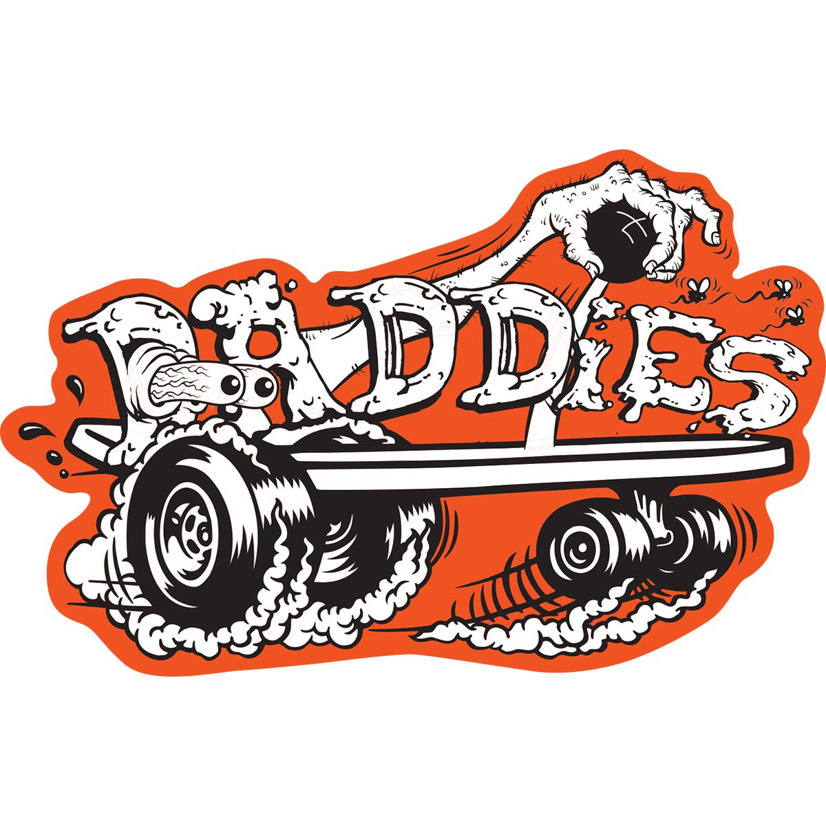 Daddies Board Shop Sticker of the Month - October