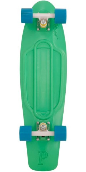 Penny Nickel Organic Complete Skateboard - Turquoise / Blue
