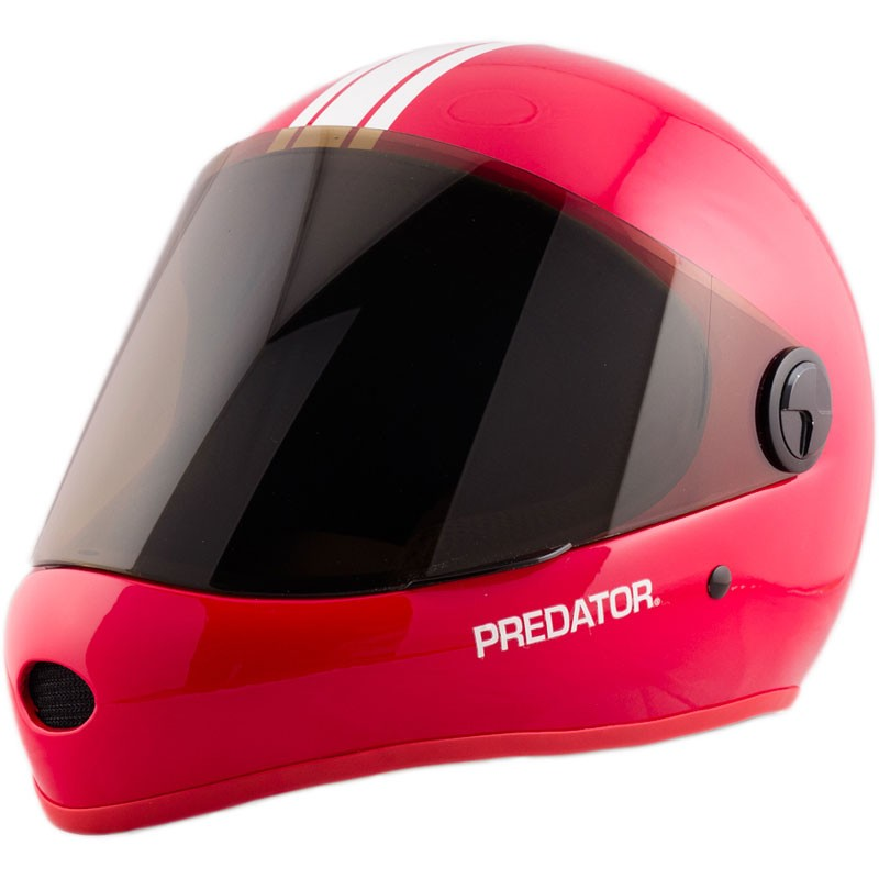 Predator DH6 Full Face Race Helmet - Red