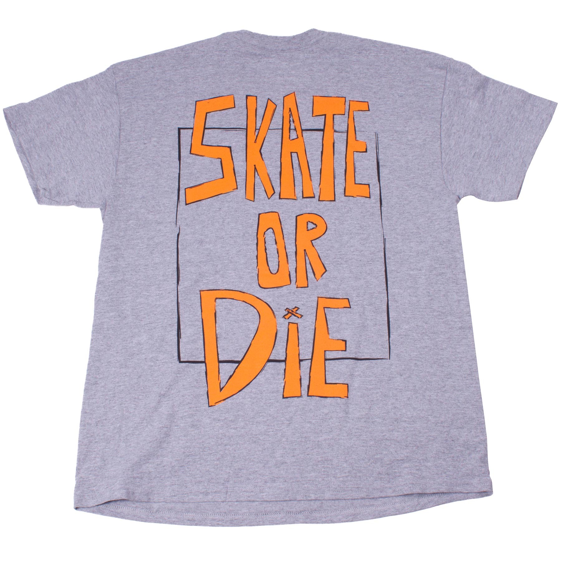 Push Culture Skate Or Die T-Shirt - Grey