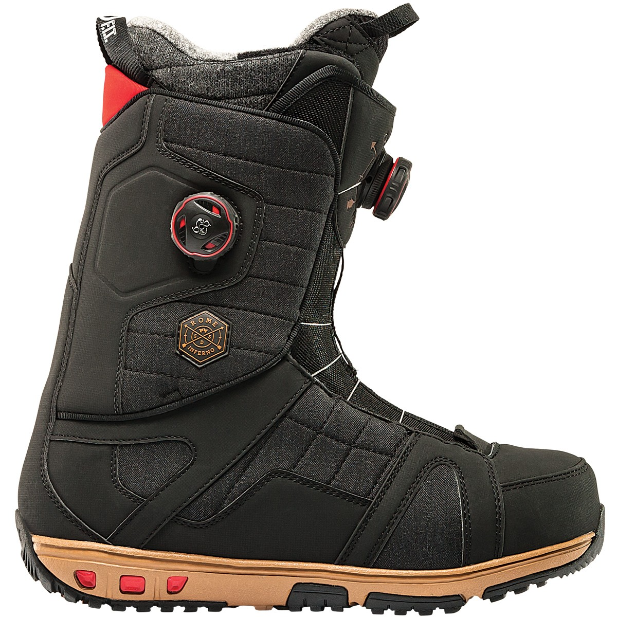 Rome Inferno Boots 2015 - Black