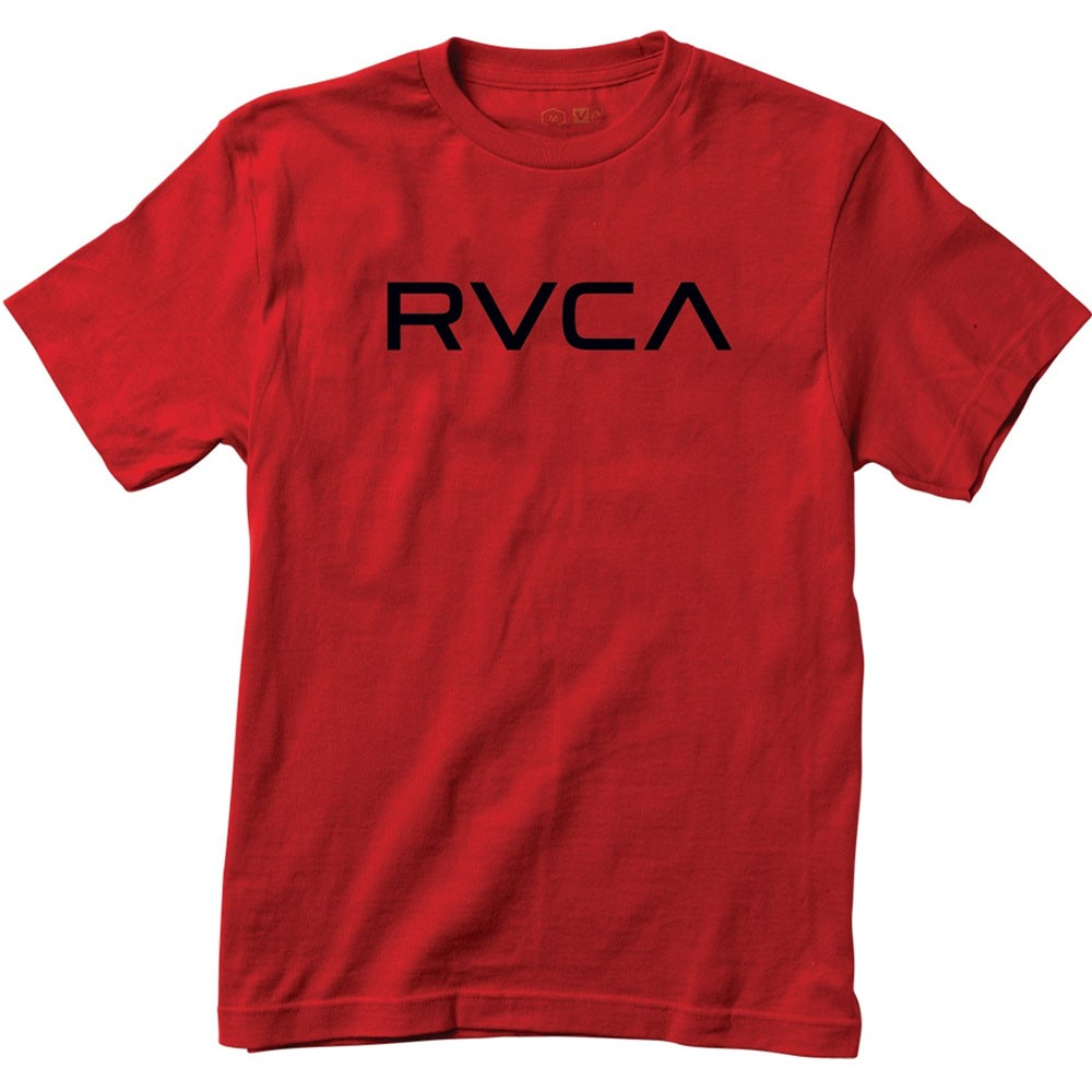 RVCA Big RVCA Youth T-Shirt - Red