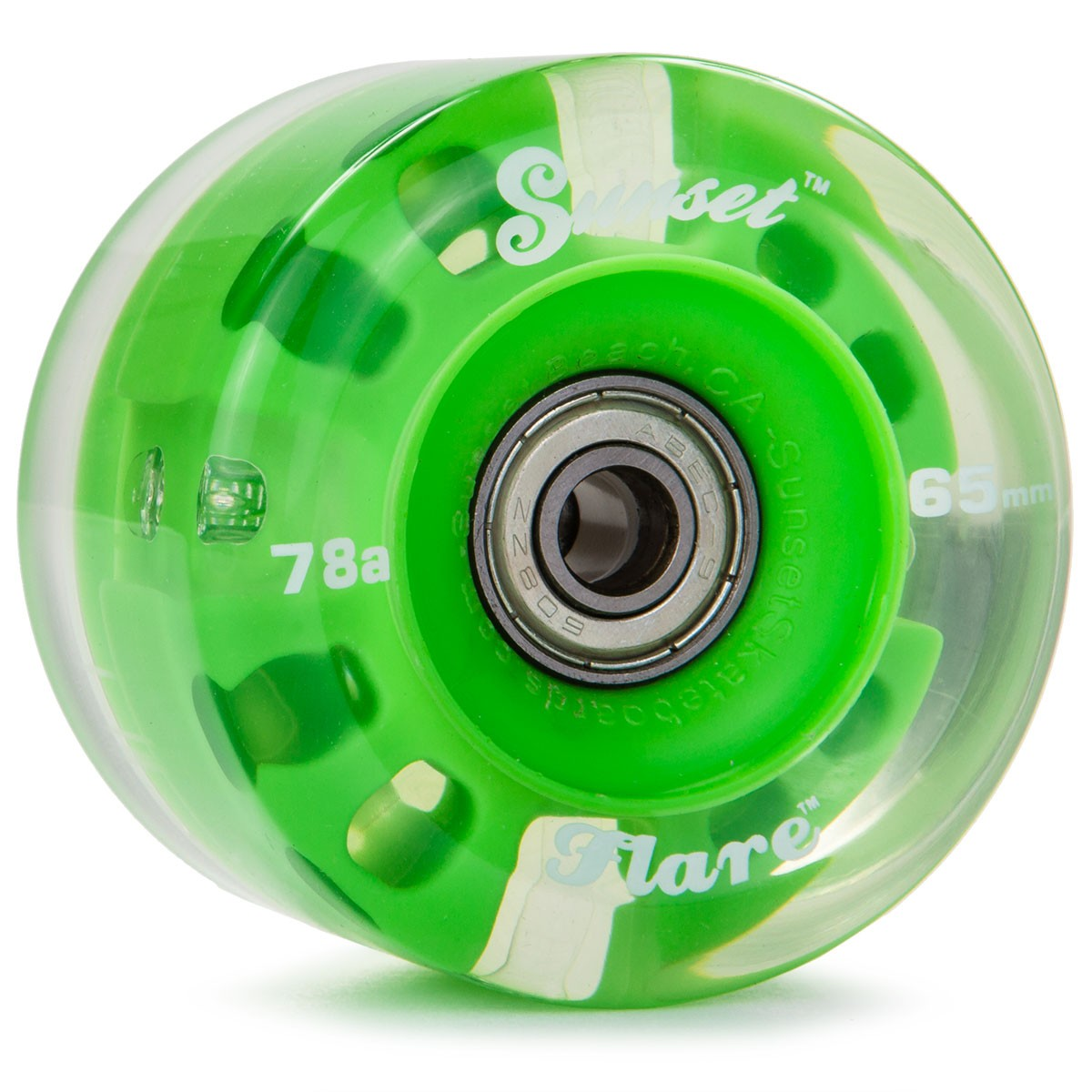 Longboard Wheels 65mm 78a Wheels 65mm 78a Green
