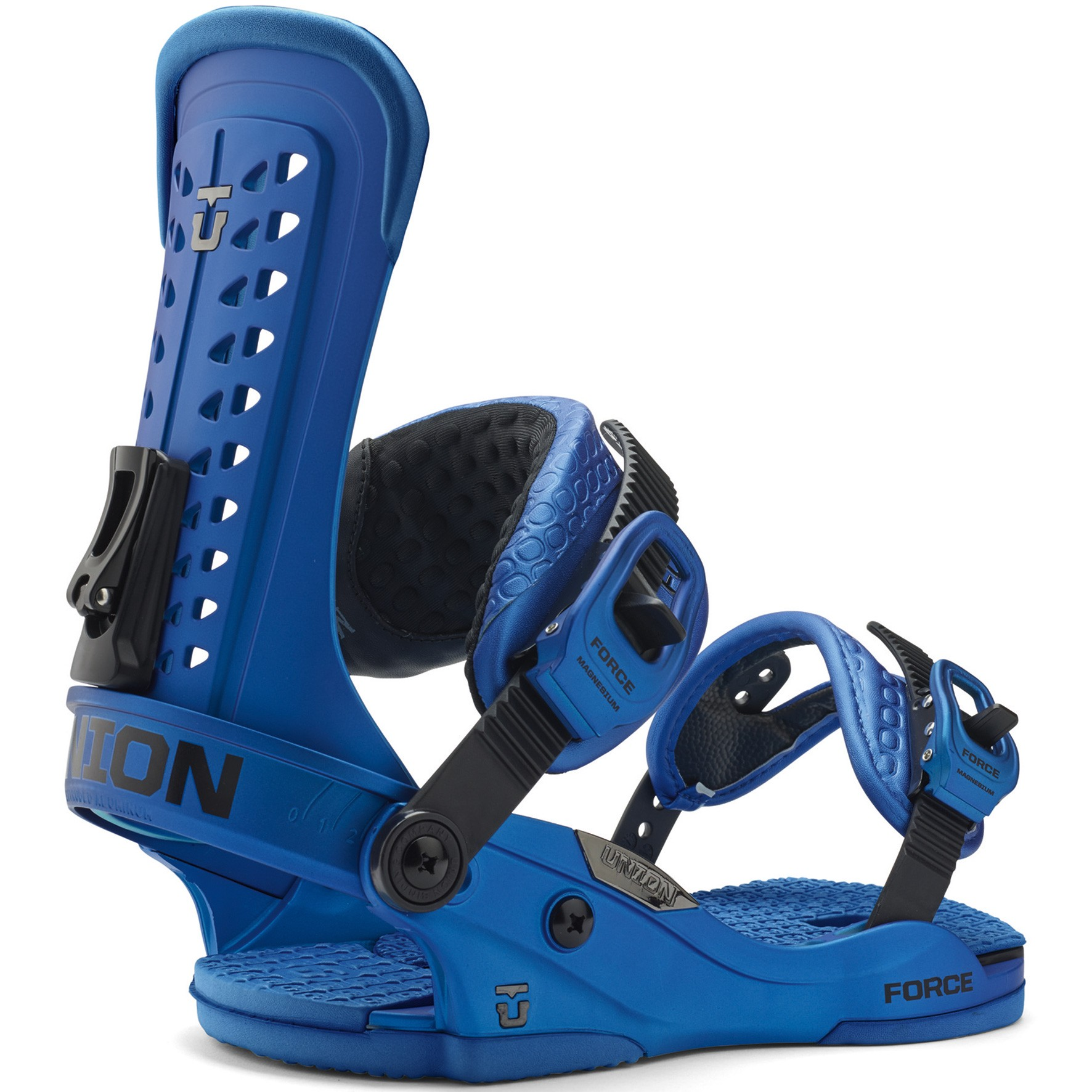 Union Force Snowboard Bindings 2015 - Metal Blue