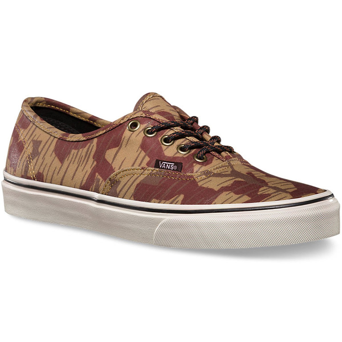 Vans Authentic Waxed Shoes - Geo Camo - 9.5