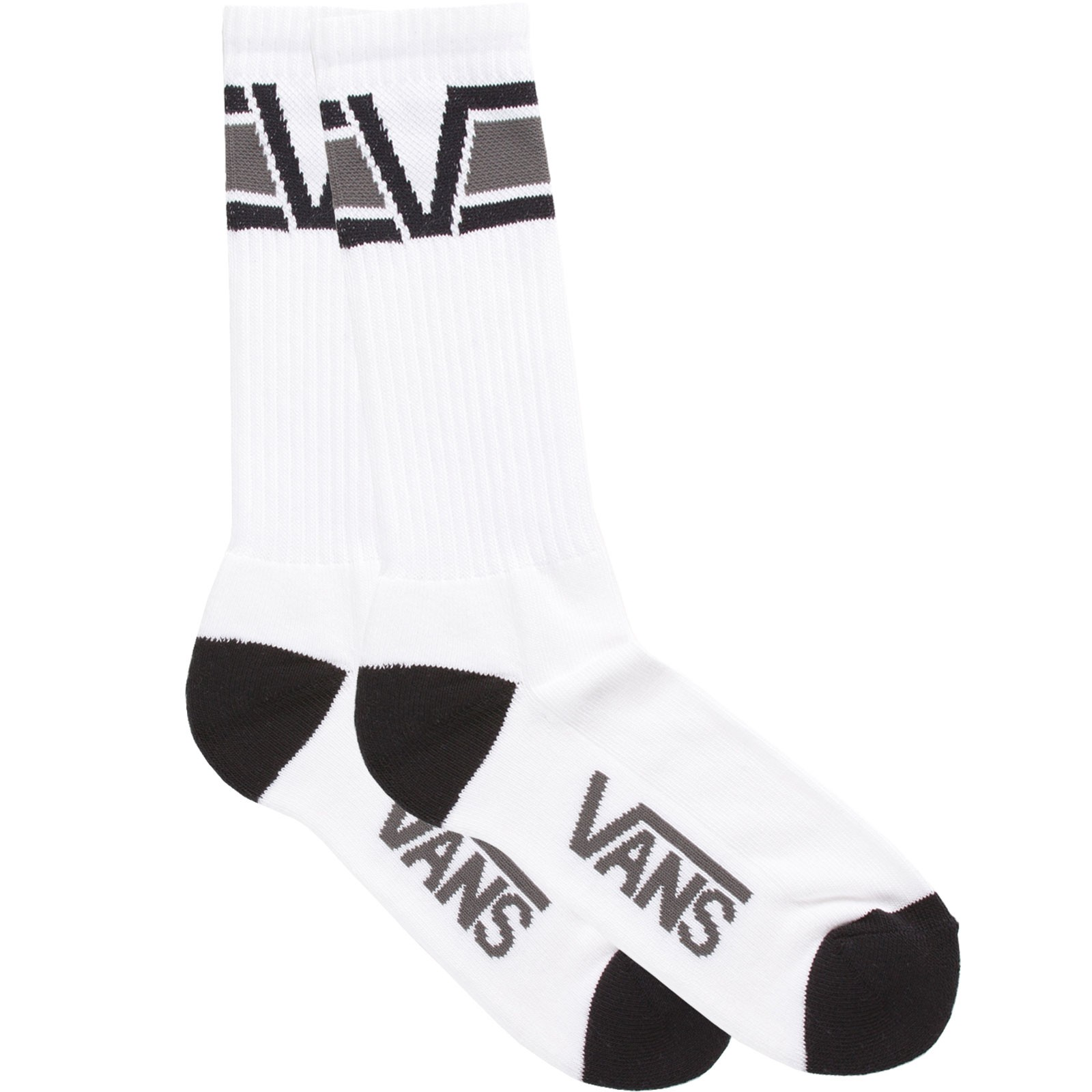 Vans Big V Socks - 1 Pack - Black/Gravel