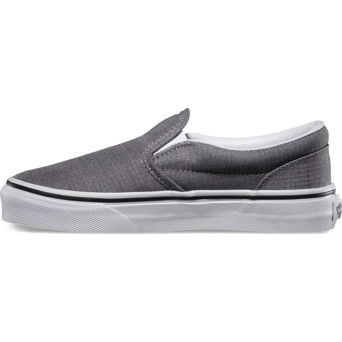 vans classic slip on suiting stripes youth shoes