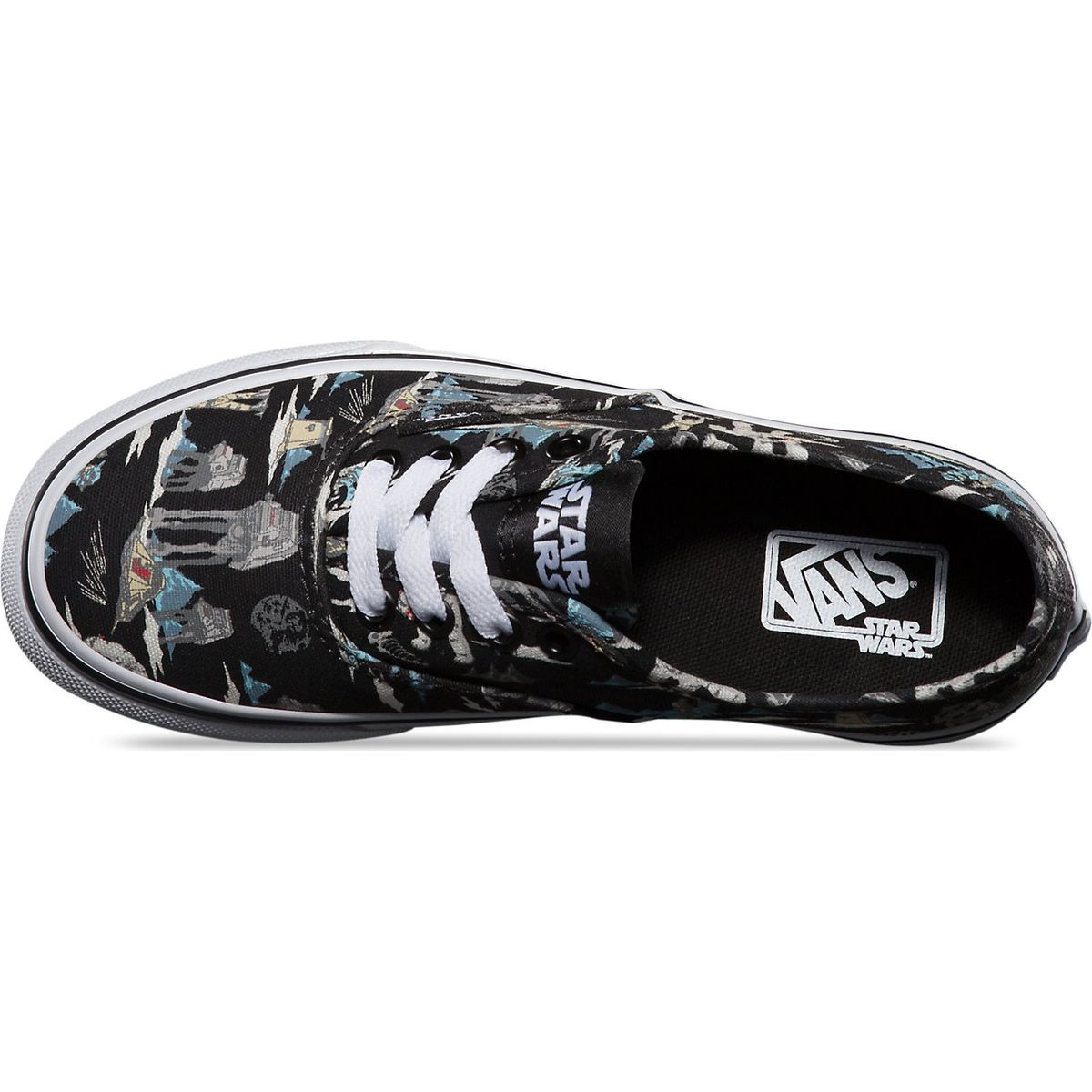 vans star wars authentic youth shoes $ 16 78 $ 41 95 select color