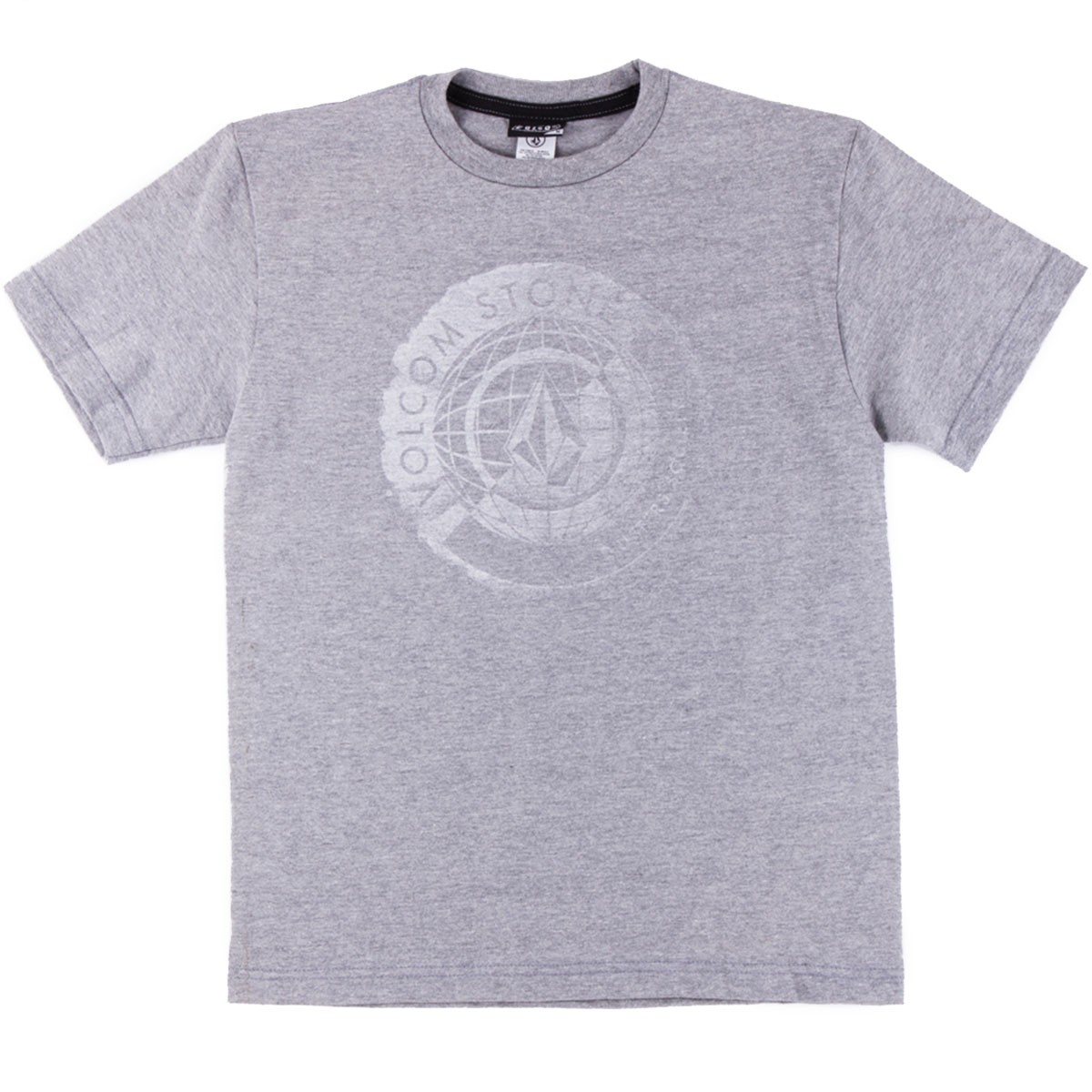 Volcom Global Connotations Youth T-Shirt - Heather Grey