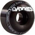 Daddies Board Shop Well Skateboard Wheels 56mm 101a - Black