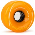 Landyachtz Hawgs Tracers Longboard Wheels - 67mm 78a Orange