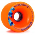 Orangatang Stimulus Freeride Longboard Wheels 70mm Orange