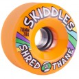 Sector 9 Skiddles Longboard Wheels - 70mm 78a Orange