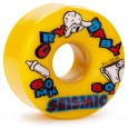 Seismic Cry Baby Longboard Wheels 60mm 80a Yellow
