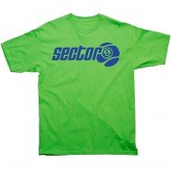 Sector 9 Marquee T-Shirt - Lime Green