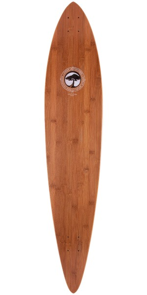 Arbor Bamboo Timeless Pintail Longboard Skateboard Complete