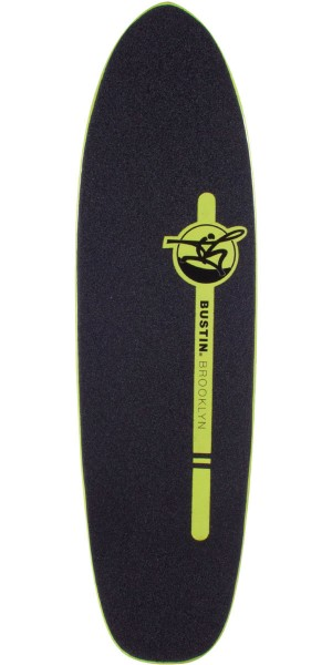 Bustin Boards Dime 29 Longboard Skateboard Deck - Yellow