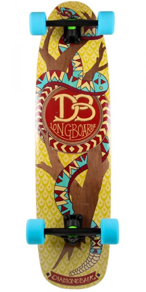 DB Longboards The Diamondback Longboard Complete