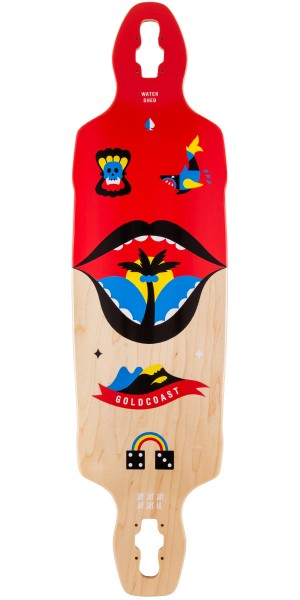 Gold Coast Watershed Drop Through Longboard Deck