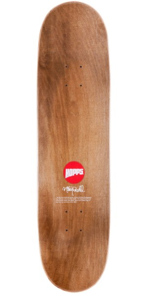 Hopps Ricky Powell Photo Series #1 Skateboard Complete - 8.25""
