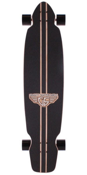 "Gravity Boards 40"" Mini Kick Longboard Complete"