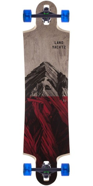 Landyachtz Switchblade 38 Mountain Longboard Complete - Red