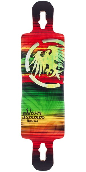 Never Summer Hooligan Longboard Skateboard Deck 2014 V2