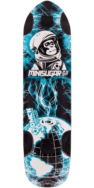 Omen Mini Sugar 2.0 Longboard Skateboard Deck