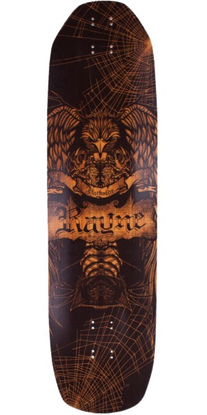 Rayne Darkside Longboard Skateboard Deck