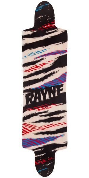 Rayne Future Killer Longboard Skateboard Deck