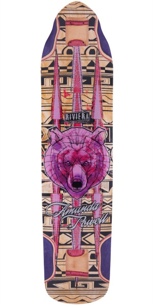 Riviera Ursa Minor Amanda Powell Pro Model Longboard Skateboard Deck