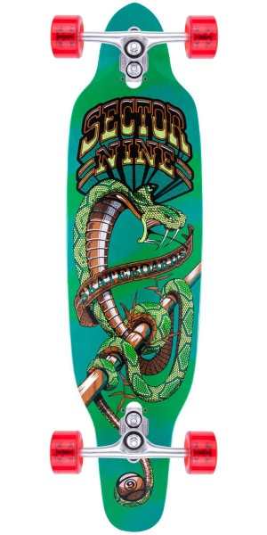 Sector 9 Striker Longboard Skateboard Complete - Green
