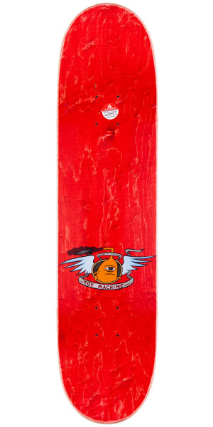 """Toy Machine Fists Skateboard Complete - Brown Stain - 7.75"""""""