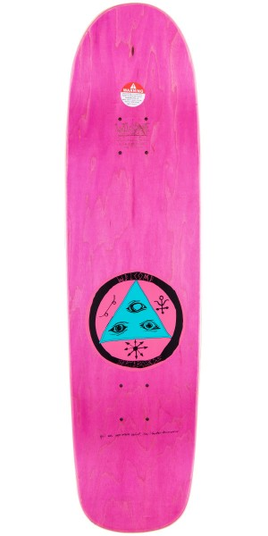 Welcome Baby On Waxing Moon Skateboard Complete - Yellow - 8.50""