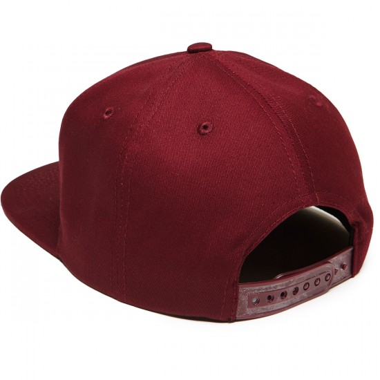 Thrasher New Religion Snapback Hat - Maroon