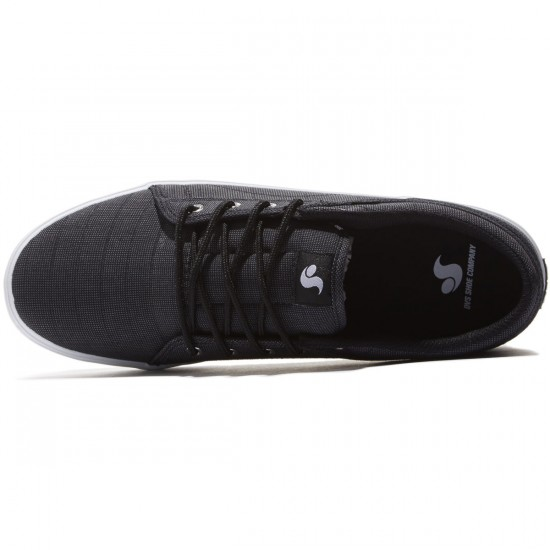 DVS Aversa Shoes - Black Chambray - 8.0